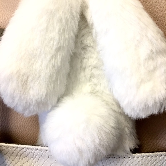 sale retailer 37689 01504 iPhone 6, 6S case Bunny Ears Fluffy Furry case NWT